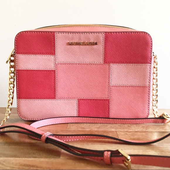 87ce4bc8ff0 Michael Kors Bags   East West Crossbody Pink Grapefruit   Poshmark